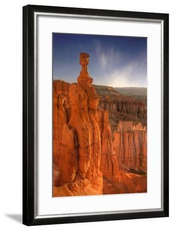 Morning Light at Thor's Hammer-Vincent James-Framed Photographic Print
