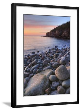 Seascape at Monument Cove, Acadia-Vincent James-Framed Photographic Print