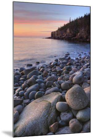 Seascape at Monument Cove, Acadia-Vincent James-Mounted Photographic Print