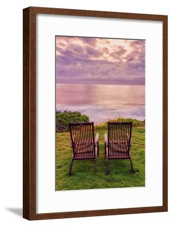 Two in the Morning, Hana Maui-Vincent James-Framed Photographic Print