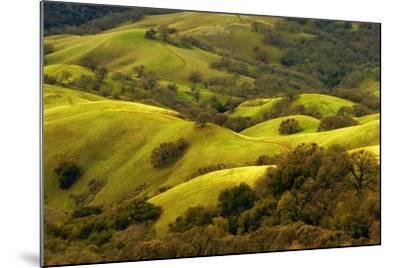 Diablo Winter Hills-Vincent James-Mounted Photographic Print