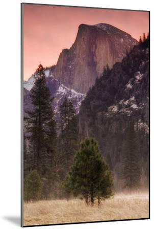 Morning Mist and Half Dome-Vincent James-Mounted Photographic Print