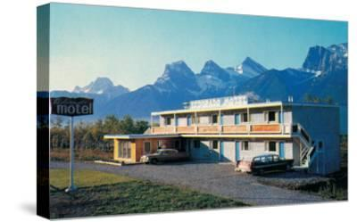 Eldorado Motel in the Mountains--Stretched Canvas Print