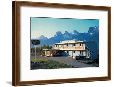 Eldorado Motel in the Mountains--Framed Art Print