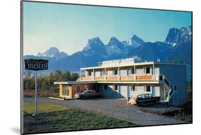 Eldorado Motel in the Mountains--Mounted Art Print