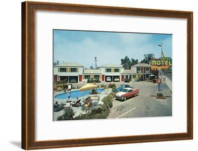 Mecca Motel--Framed Art Print