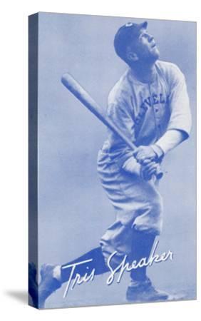 Tris Speaker, Baseball Player--Stretched Canvas Print