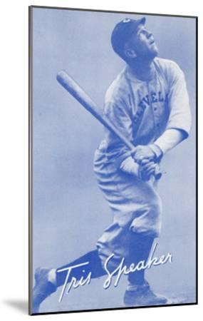 Tris Speaker, Baseball Player--Mounted Art Print