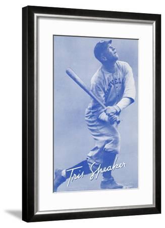 Tris Speaker, Baseball Player--Framed Art Print