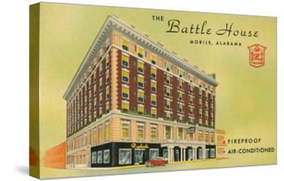 Battle House Hotel, Mobile, Alabama--Stretched Canvas Print
