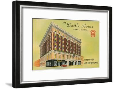 Battle House Hotel, Mobile, Alabama--Framed Art Print