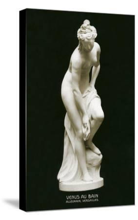Venus Au Bain Statue--Stretched Canvas Print