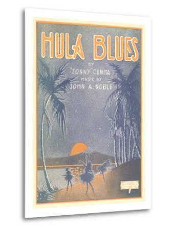 Sheet Music for Hula Blues--Metal Print