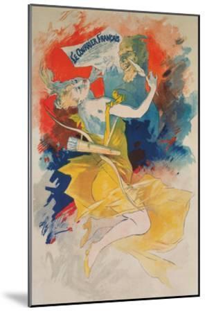 Le Courrier Francais Poster--Mounted Art Print