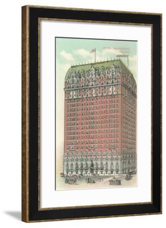 Blackstone Hotel, Chicago, Illiniois--Framed Art Print