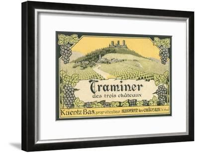 Yugoslavian Wine Label--Framed Art Print