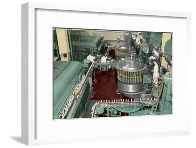 Bottling Plant--Framed Art Print