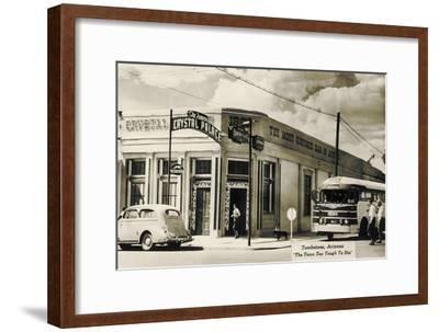 Bus Depot, Tombstone, Arizona--Framed Art Print