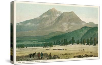 San Francisco Peaks, Arizona--Stretched Canvas Print