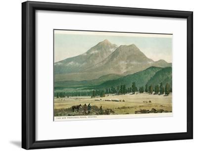 San Francisco Peaks, Arizona--Framed Art Print