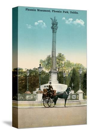 Phoenix Monument, Dublin, Ireland--Stretched Canvas Print