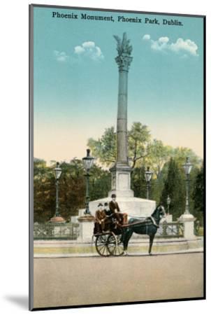 Phoenix Monument, Dublin, Ireland--Mounted Art Print