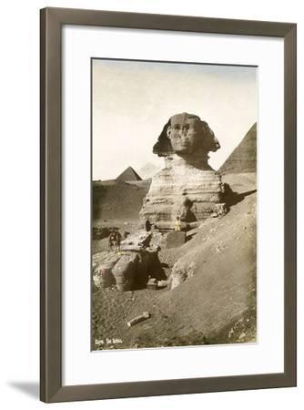 The Sphinx--Framed Art Print