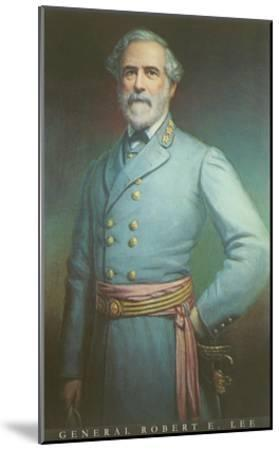 General Robert E. Lee--Mounted Art Print