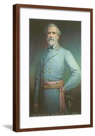 General Robert E. Lee--Framed Art Print