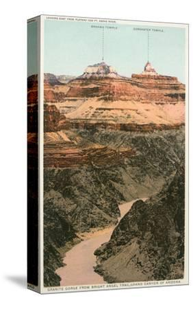 Early Views of Grand Canyon--Stretched Canvas Print