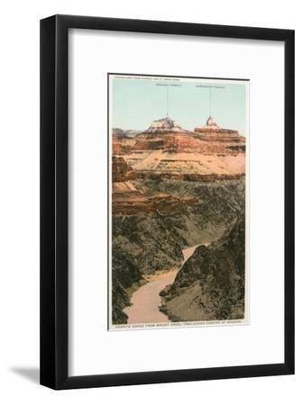 Early Views of Grand Canyon--Framed Art Print