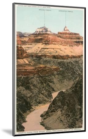 Early Views of Grand Canyon--Mounted Art Print
