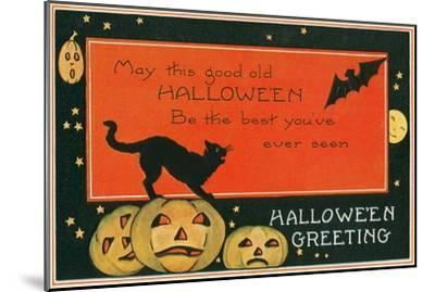 Halloween Greeting, the Best--Mounted Art Print