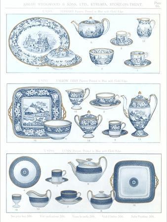 Wedgwood Etruria Ceramics--Framed Art Print