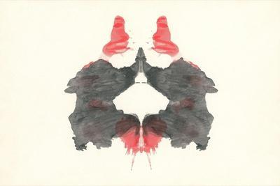 Rorschach Test Pattern--Stretched Canvas Print