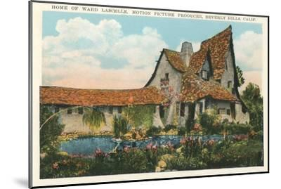 Home of Ward Lascelle, Movie Producer, Beverly Hills, California--Mounted Art Print