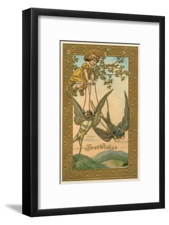 Best Wishes--Framed Art Print