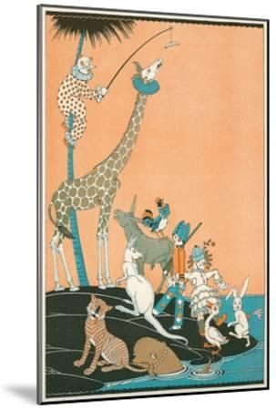 Circus Washed Up on Desert Isle--Mounted Art Print