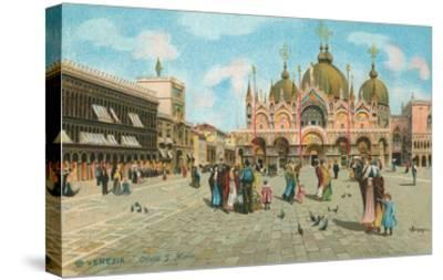 St. Mark's Basilica, Venice, Italy--Stretched Canvas Print