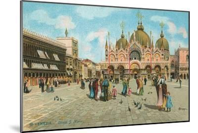 St. Mark's Basilica, Venice, Italy--Mounted Art Print