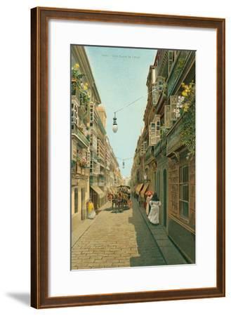 Calle Duque De Tetuan, Cadiz, Spain--Framed Art Print