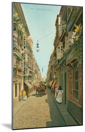 Calle Duque De Tetuan, Cadiz, Spain--Mounted Art Print