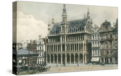 House of the King, Brussels, Belgium--Stretched Canvas Print