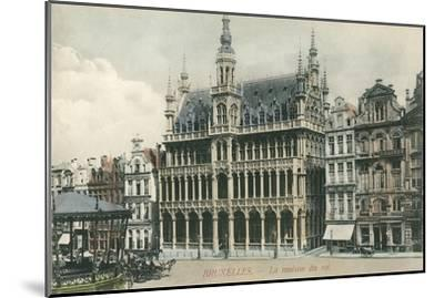 House of the King, Brussels, Belgium--Mounted Art Print