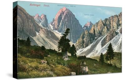Tyrolean Alps--Stretched Canvas Print