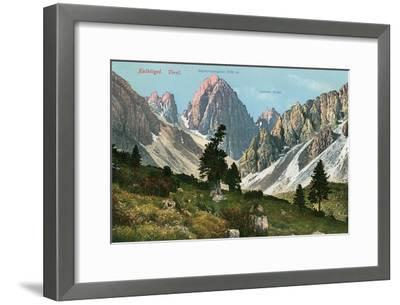 Tyrolean Alps--Framed Art Print