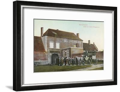 Chateau Near Waterloo Battlefield--Framed Art Print
