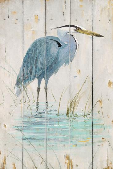 Blue Heron-Arnie Fisk-Art Print