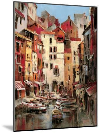 Mediterranean Seaside Holiday 1-Brent Heighton-Mounted Art Print