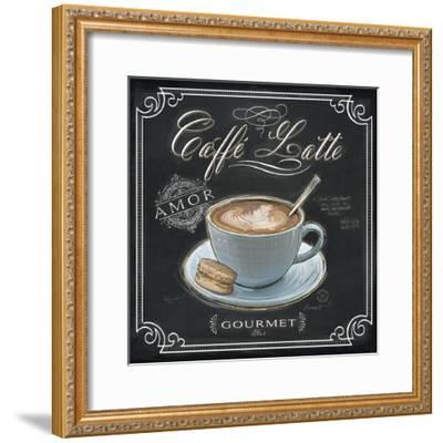 Coffee House Caffe Latte-Chad Barrett-Framed Art Print
